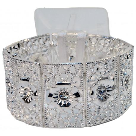 Maisie Corsage Bracelet - Silver