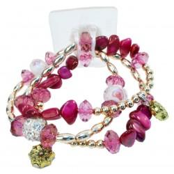 Nadya Corsage Bracelet - Purple