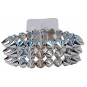 The Rocker Corsage Bracelet - Silver