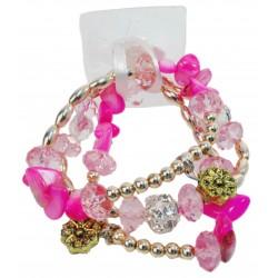 Nadya Corsage Bracelet - Pink