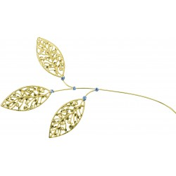 Lacey Leaves - Gold (23cm Long)