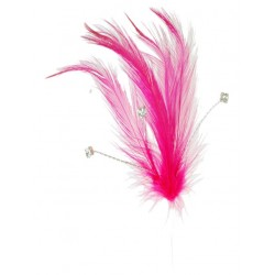 Flutters Feathers - Hot Pink (15cm Long, 3 pcs per pack)