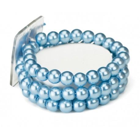 Avery Corsage Bracelet - Blue