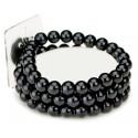 Avery Corsage Bracelet - Black