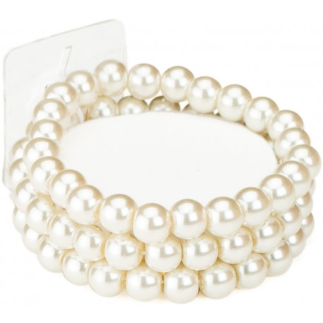 Avery Corsage Bracelet - Cream