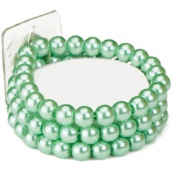 Avery Corsage Bracelet - Green