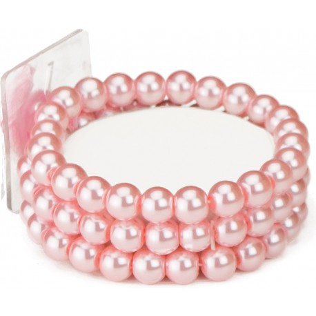 Avery Corsage Bracelet - Pink