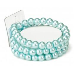 Avery Corsage Bracelet - Turquoise