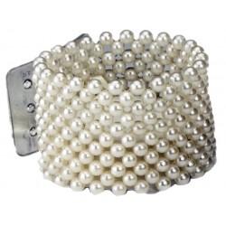 Classic Cream Corsage Bracelet