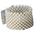 Classic Corsage Bracelet - Cream