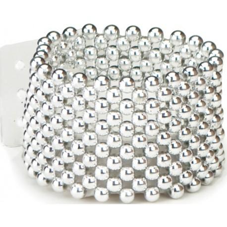 Classic Silver Corsage Bracelet