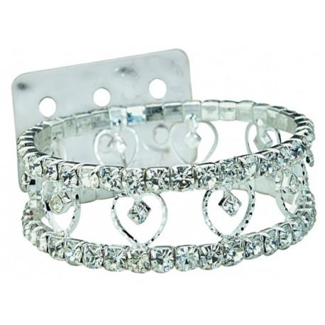 Cupid Silver Corsage Bracelet