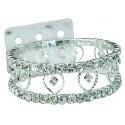Cupid Corsage Bracelet - Silver