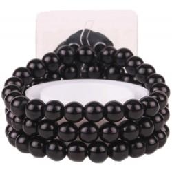 Delicate Kid's Corsage Bracelet - Black (6cm diameter)