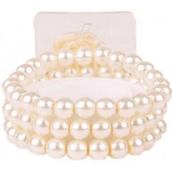 Delicate Kid's Corsage Bracelet - Cream (6cm diameter)