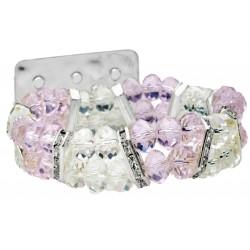 Diva Pink Corsage Bracelet