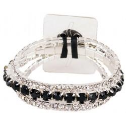 Fabulous Corsage Bracelet - Black