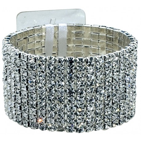 Girl's Best Friend Corsage Bracelet - Silver