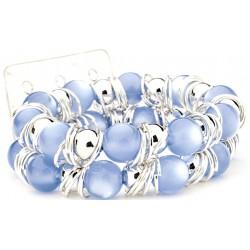 Gum Drops Blue Corsage Bracelet