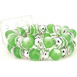Gum Drops Green Corsage Bracelet