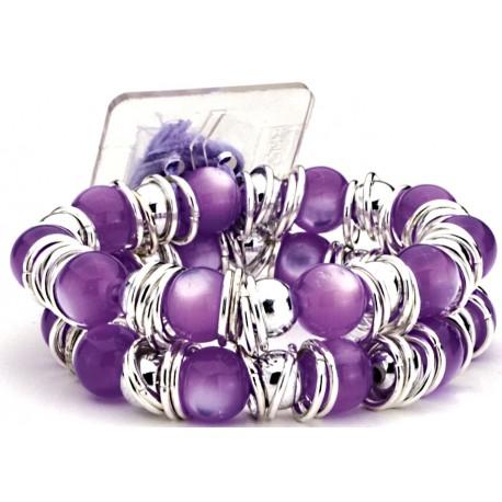Gum Drops Purple Corsage Bracelet
