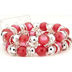 Gum Drops Red Corsage Bracelet