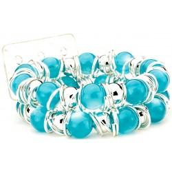 Gum Drops Turquoise Corsage Bracelet