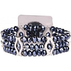 Paparazzi Corsage Bracelet - Black