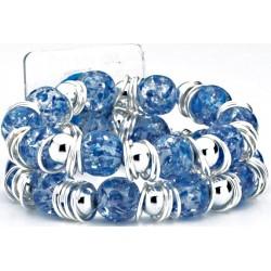 Raz-Ma-Tazz Corsage Bracelet - Blue