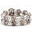 Raz-Ma-Tazz Corsage Bracelet - Brown
