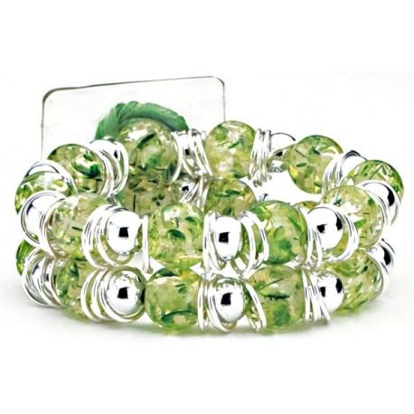Raz-Ma-Tazz Corsage Bracelet - Green