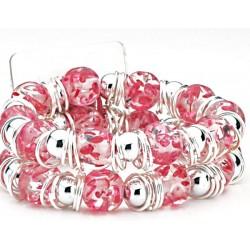 Raz-Ma-Tazz Corsage Bracelet - Pink