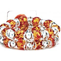 Raz-Ma-Tazz Corsage Bracelet - Orange