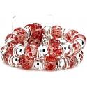Raz-Ma-Tazz Corsage Bracelet - Red