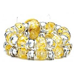 Raz-Ma-Tazz Corsage Bracelet - Yellow