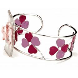 Alpine Meadow Pink Corsage Bracelet