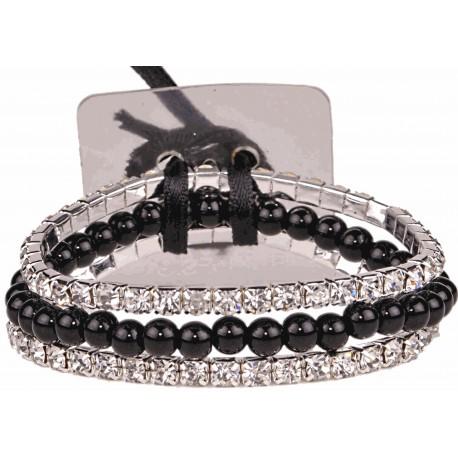 Sarina Corsage Bracelet - Black
