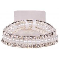 Sarina Corsage Bracelet - White