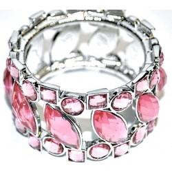 Splendid Time Corsage Bracelet - Pink