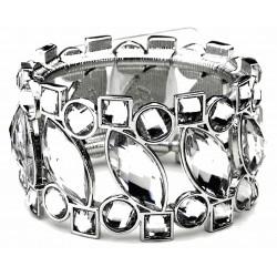 Splendid Time Corsage Bracelet - Silver
