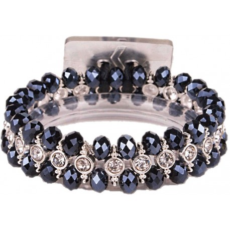 Tiny Dancer Corsage Bracelet- Black