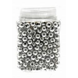 12mm Pearl - Silver (150g, Approx 179 Pcs Per Pk)