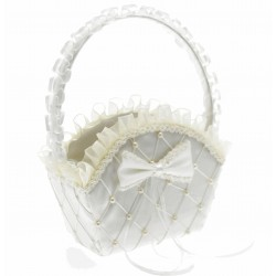 Alice Flower Girl Bag - Cream (22cm High)