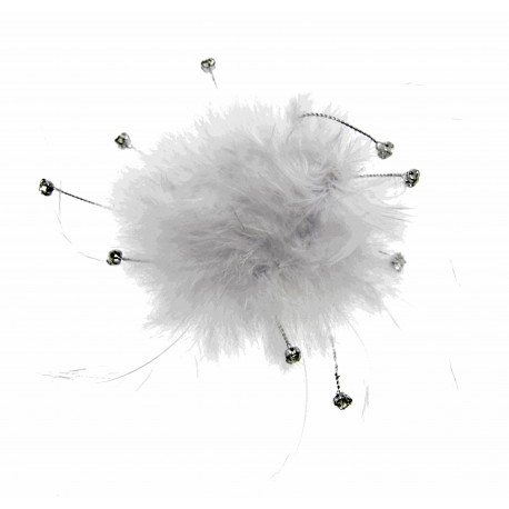 Cloud 9 Feather Accents - White