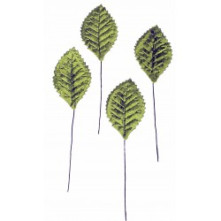 Corsage Leaves -  Green (100pcs per pk, 15cm long)