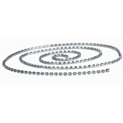 Dazzleline Silver (4mm x 1m)