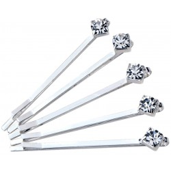 Finishing Touch Silver Hair Pins 5 pcs per pkg
