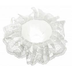 Lace Bouquet Frill - White (20cm Diameter)
