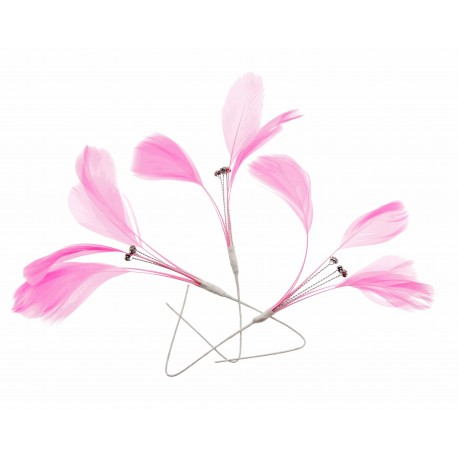 Tweetie Feather Accents - Pink