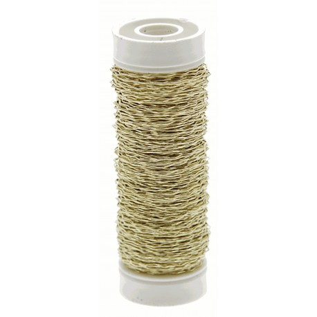 Bullion Wire - Gold (0.3mm x 25g)